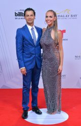 Raul Angeles and Jessica Carillo attend the Billboard Latin Music Awards in Las Vegas