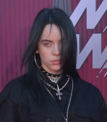 Billie Eilish attends the iHeartRadio Music Awards in Los Angeles