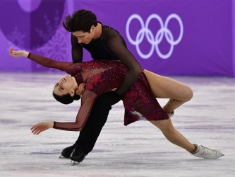 Team Event Ice Dance Free Skating competition at the Pyeongchang 2018 Winter Olympics