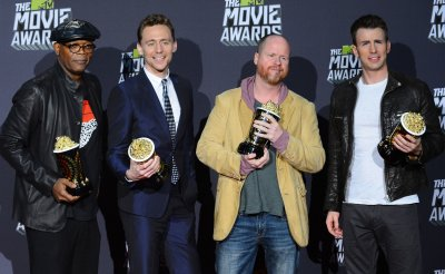 """""""Marvel's The Avengers,"""" garners Movie of the Year award at 2013 MTV Movie Awards in Culver City, California"""