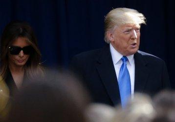 President Trump at New York City Veterans Day Parade