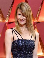 Laura Dern arrives for the 89th annual Academy Awards in Hollywood