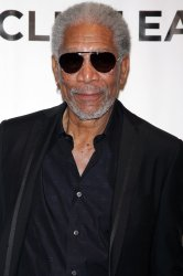 """Morgan Freeman arrives for the Museum of the Moving Image Salute to Clint Eastwood and Special Advance Screening of """"Invictus"""" in New York"""
