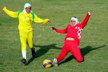 First edition of Women's Islamic Football Tournament in Tehran
