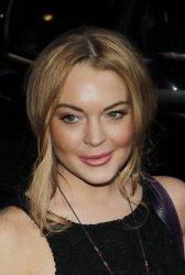 Lindsay Lohan at the David Letterman Show