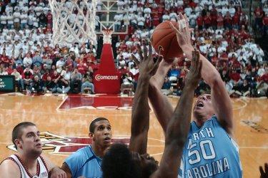 NORTH CAROLINA VS MARYLAND NCAA BASKETBALL