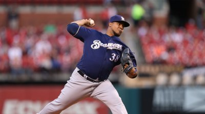 Milwaukee Brewers pitcher Wily Peralta