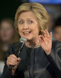 Hillary Clinton campaigns in Oakland, California