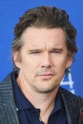 Ethan Hawke attends a photo call for Downsizing at the 74th Venice Film Festival
