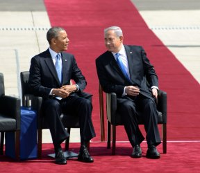 US President Barack Obama Arrives In Israel