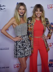 Jessica and Ashley Hart attend Race to Erase MS gala