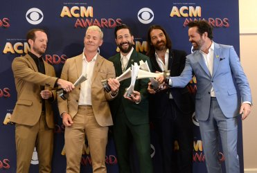 Old Dominion wins Vocal Group of the Year award at the 53rd annual Academy of Country Music Awards in Las Vegas
