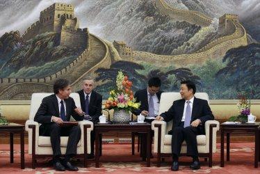 Blinken meets Yuanchao in Beijing