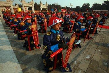 Spring festival begins in Beijing