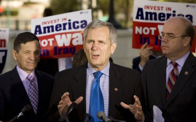 Members of Congress discuss how much an American Family owe for the Iraq War in Washington