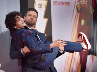 Zachary Levi attends 'Shazam!' premiere in Hollywood