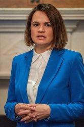 Senators Meet With Belarus Opposition Leader Sviatlana Tsikhanouskaya