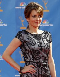 Tina Fey arrives at the 62nd Primetime Emmy Awards in Los Angeles