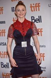 Thomasin McKenzie attends 'Jojo Rabbit' premiere at Toronto Film Festival