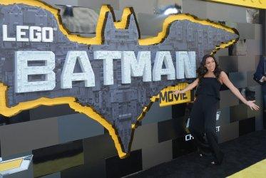 "Rosario Dawson attends ""The LEGO Batman Movie"" premiere in Los Angeles"