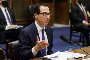 Treasury Secretary Steven Mnuchin testifies before the House Select Subcommittee