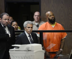 """Marion """"Suge"""" Knight pleads not guilty to charges of murder and attempted murder in Compton, California"""