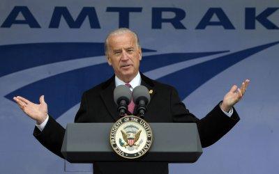 Biden announces funding for Amtrak in Washington