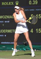 Caroline Wozniacki against Veronika Kudermetova in Second round match.