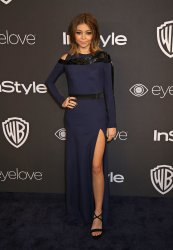 Sarah Hyland attends the InStyle and Warner Bros. Golden Globe after-party in Beverly Hills