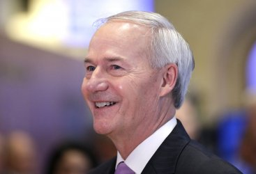Governor of Arkansas Gov Asa Hutchinson at the NYSE