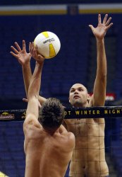 Pro Beach Volleyball in St. Louis