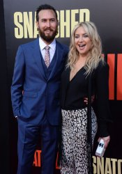 "Kate Hudson and Danny Fujikawa attend the ""Snatched"" premiere in Los Angeles"