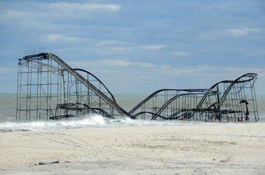 Hurricane Sandy memorable images