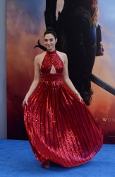 "Gal Gadot attends the ""Wonder Woman"" premiere in Los Angeles"