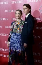 Saoirse Ronan and Paul Dano attend the Palm Springs International Film Festival in Palm Springs, California