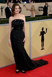 Geena Davis attends the 24th annual SAG Awards in Los Angeles