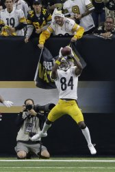 Pittsburgh Steelers wide receiver Antonio Brown