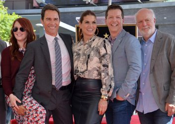 Eric McCormack is honored with a star on the Hollywood Walk of Fame in Los Angeles