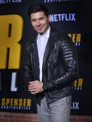 Lewis Tan attends 'Spenser Confidential' premiere in LA