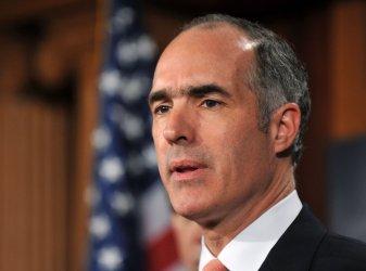 Sen. Bob Casey (D-PA) speaks on the financial reform bill in Washington
