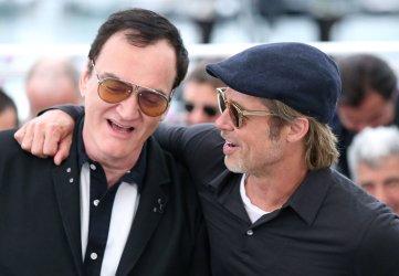 Brad Pitt and Quentin Tarantino attend the Cannes Film Festival