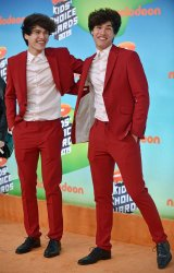 Alan and Alex Stokes attend Kids' Choice Awards 2019