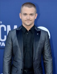 Hunter Hayes attends the Academy of Country Music Awards in Las Vegas