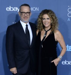 Tom Hanks and Rita Wilson attend the Critics' Choice Awards in Santa Monica