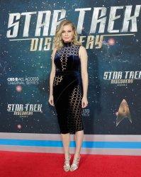 Rebecca Romijn at the 'Star Trek: Discovery' premiere
