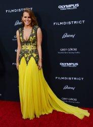 "Michelle Celeste attends the ""Olympus Has Fallen"" premiere in Los Angeles"