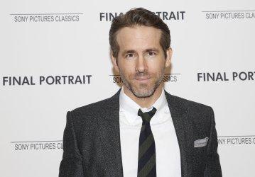 Ryan Reynolds at the 'Final Portrait' New York Screening