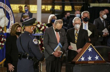 Funeral for Capitol Police Officer Brian Sicknick in Washington