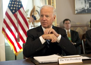 Vice President Joe Biden meets with sporting groups on gun safety in Washington