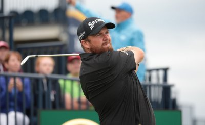 Shane Lowry on the 3rd day of the Open Championship at Royal Portrush